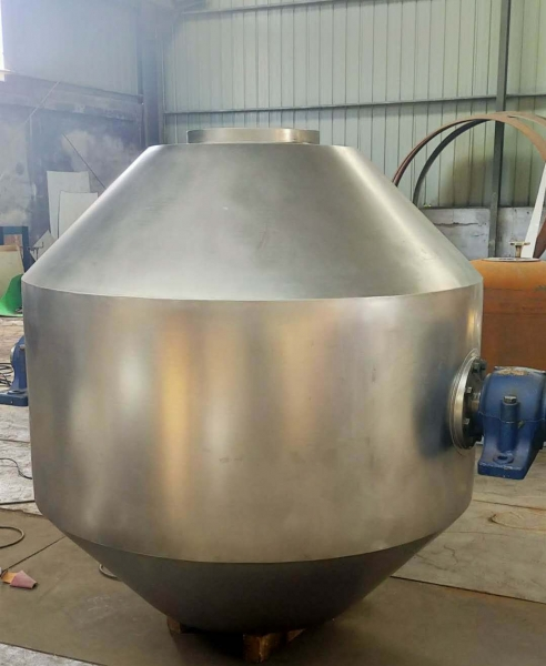 1000L搪玻璃双锥干燥机