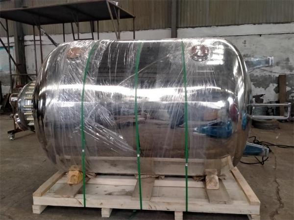 F3000L搪瓷储罐外包不锈钢